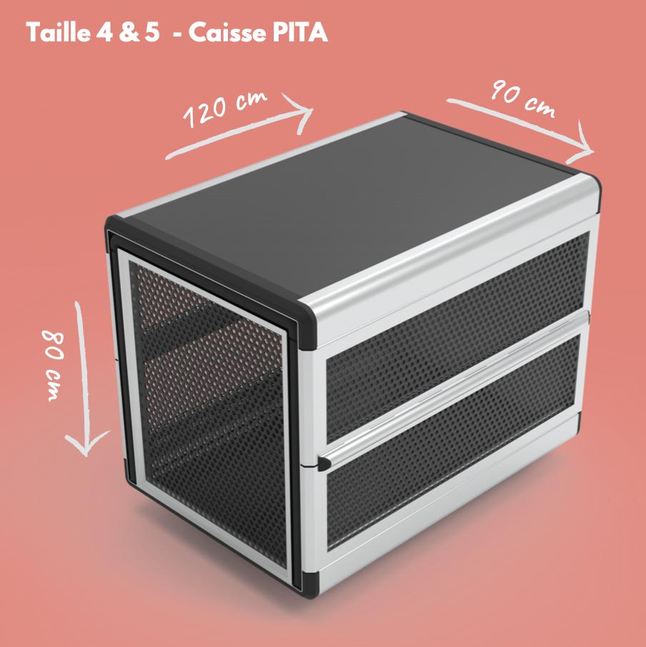 dimension caisse mita T4 et 5
